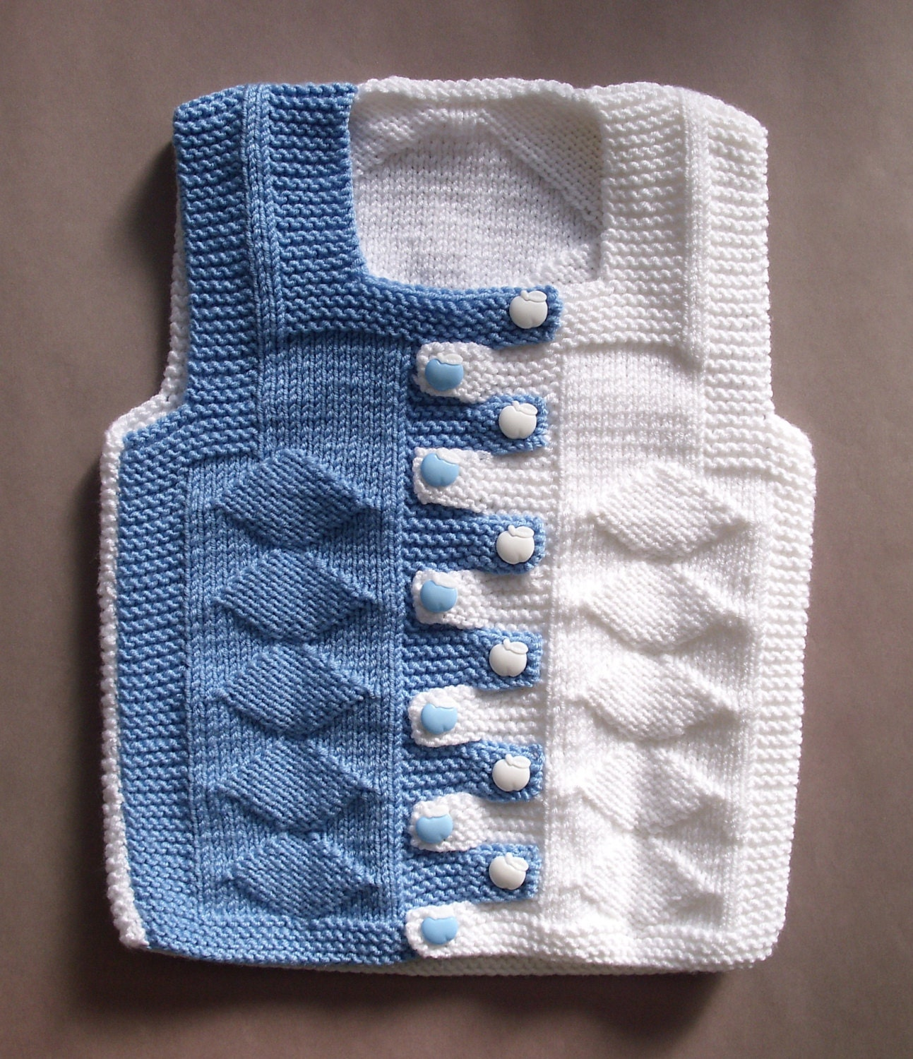 Knitting Patterns For Babies Waistcoats : Baby Hand Knit Waistcoat. Kids Sweaters. Kids Waistcoat and