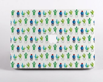 Cactus Pattern MacBook Case Design for MacBook Pro Retina Display and MacBook Air Case. Summer MacBook Cover