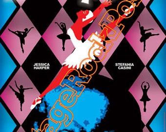 531 - SUSPIRIA - Dario Argento - 1977  - artistic retro movie poster