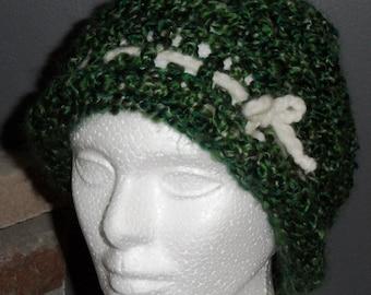 Jewel Green Knit Hat