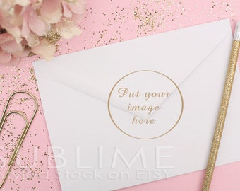 Styled Stock Photography / Blank Envelope / Mock up / Card Design / Card Mock up / Styled Envelope / JPEG Digital Image / StockStyle-345