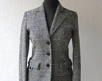 Houndstooth Wool jacket JOSEPH UK