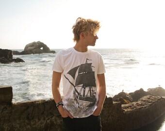 GHOST SHIP Jumbo Print T-Shirt