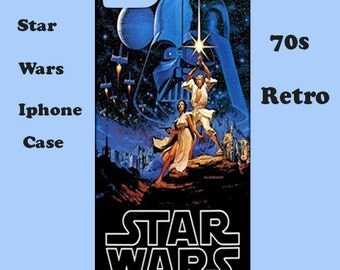 Star Wars iphone case, iphone case,70's, cover, retro, iphone 6, iphone 5, cover, iphone 6 plus, iphone 4