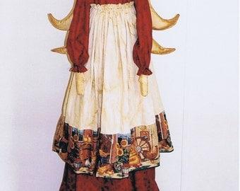 Primitive Folk Art Angel Doll E Pattern ~Sweeper Cover~