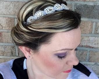 Lady Highclere Rhinestone Headband