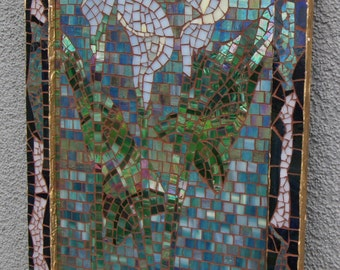 """stained glass Mosaic """"Callalilis"""""""