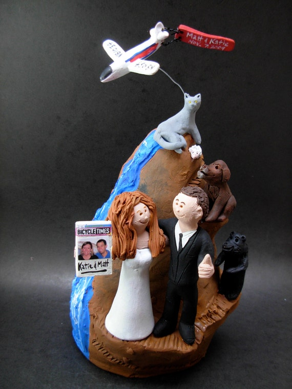 rock climbing wedding cake toppers rock climbers wedding cake topper wedding caketopper for rock 19248