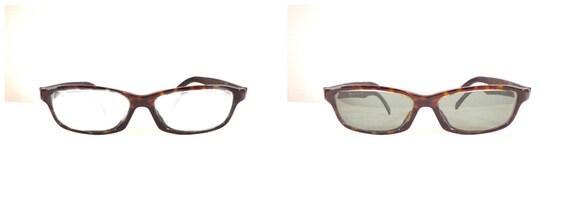 Ray Ban Tortoise Shell Eyeglass or Sunglss Frame, Prescription Quality Horn Rimmed Rectilinear Wayfarers 50mm Lens 20mm Bridge Sale