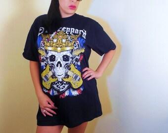 Def Leopard  T shirt Mens XL