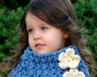 CROCHET Pattern - The Lumaria Cowl (Baby, Toddler, Child, Adult sizes)