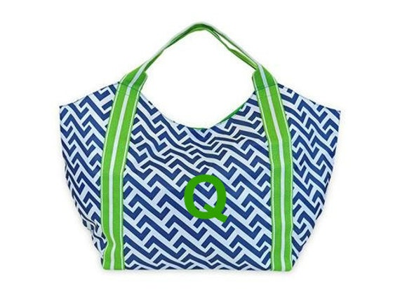 Nautical Tide Beach Tote