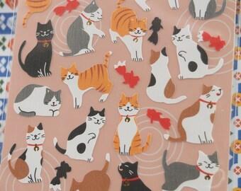 Lovely Cat Sticker (1 sheet)