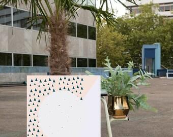 Art Print - Moon Forest ' 50x70 cm Art Print Posters Modern Art Prints Wall Art Prints Geometric Poster Geometric wall art