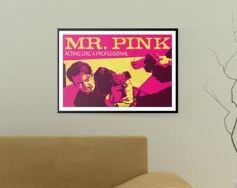 Reservoir Dogs Poster, Mr. Pink,  (19x13) Art Print, Steve Buscemi