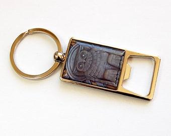 Keychain bottle opener, Bottle Opener, Key ring, Keyring bottle opener, key chain, Soda Bottle Opener, Owl (4504)