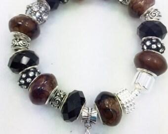 Dog European Style Charm Bracelet