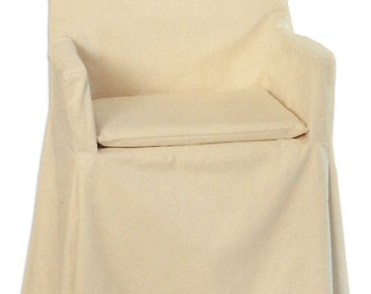Director Chair Slipcover w/ Seatpad