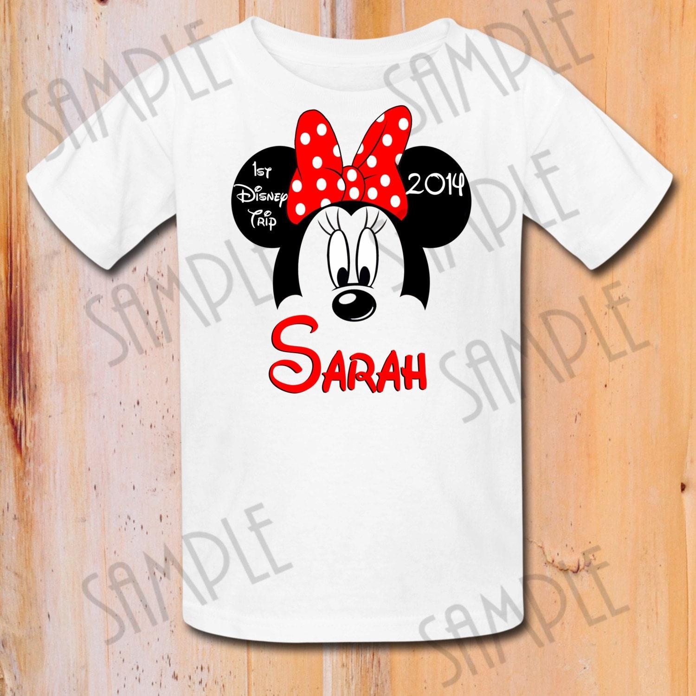 Disney Family Vacation T Shirts Iron On Transfer Printable