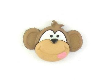 Monkey Lapel Pin - Gift Ideas - Silly Monkey Tie Tack