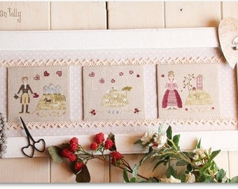 Love is in the air - Cross stitch Chart