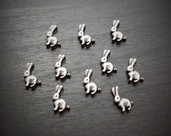 Rabbit Floating Charm for Floating Lockets-Easter Bunny Charm-Gift Ideas for Women