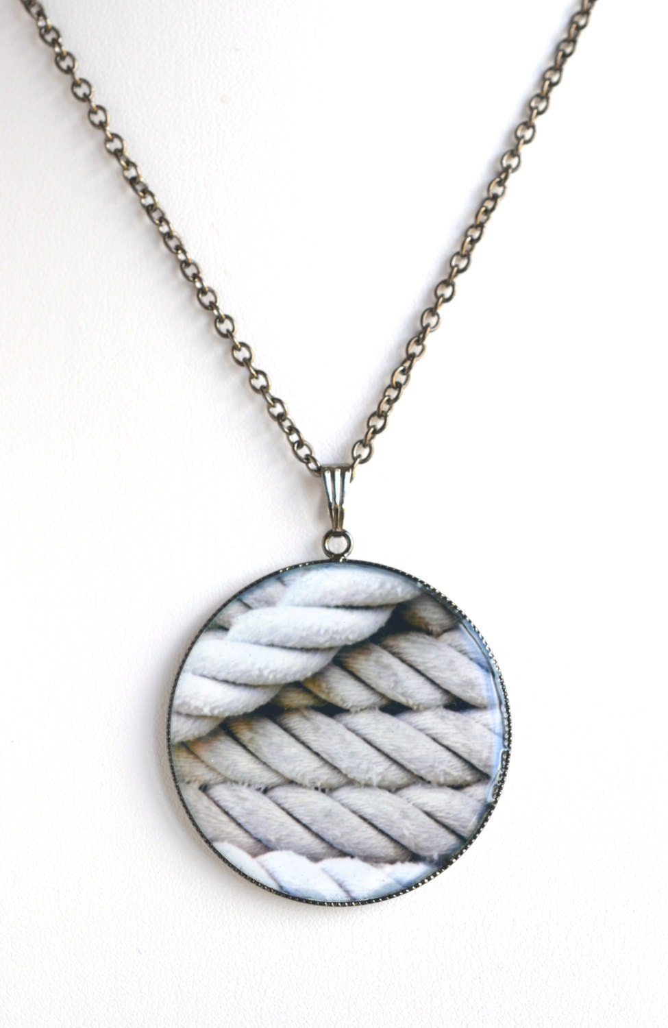 Boating necklace nautical necklace sailing jewelry