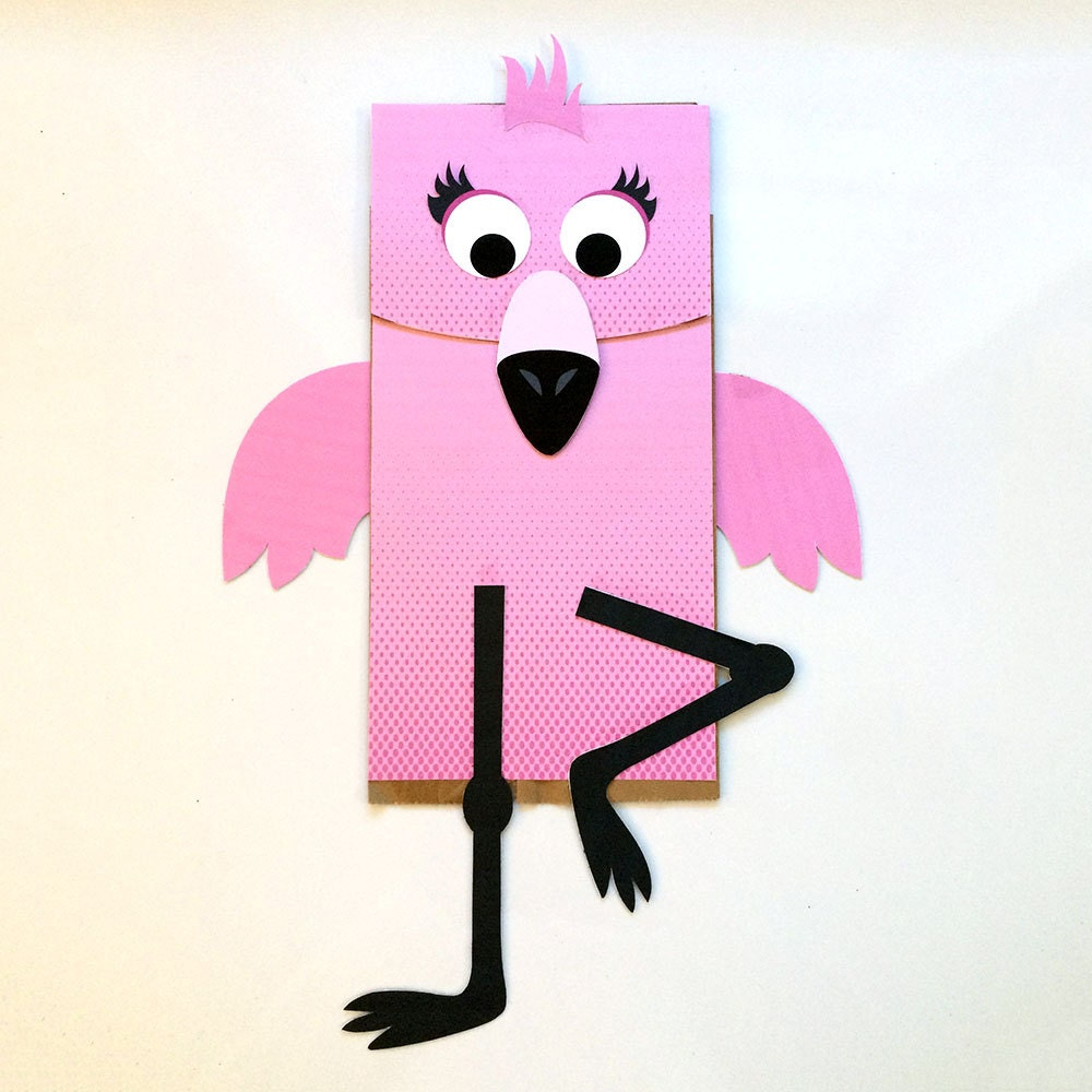 Ridiculous image with paper bag puppets printable