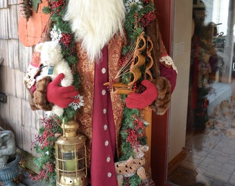 Pre Order your OOAK Life Size lifesize 6ft Santa Claus for 2015