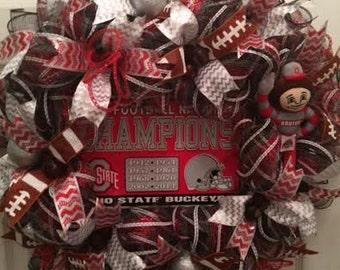 Ohio State Championship Wreath