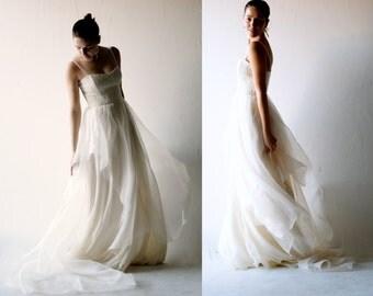Lace Wedding dress, Boho wedding dress, Bohemian wedding dress, Simple wedding dress, Alternative wedding dress, Princess wedding dress