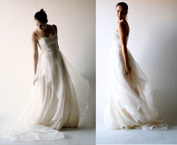 Lace Wedding Dress Boho Wedding Dress Bohemian By Larimeloom