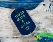 Mens Valentines Day Gift Idea Personalized Fishing Lure Gift for Valentines Day Gift for Him Mens Valentines Day Gift for Him Cool Gift Idea