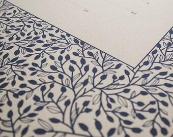 Ketubah Giclée Print by Jennifer Raichman - Lace Leaves