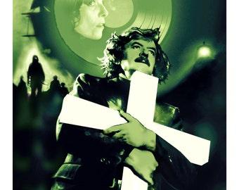 "John Carpenter's The Fog  13"" x 19""  Artist Proof Art Print Classic Horror Movie"