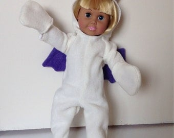 18 inch doll FF Moogle jumpsuit Costume