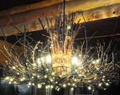 The Appalachian - Rustic Outdoor Chandelier - 5 Candle Chandelier - Rustic Chandelier - Cabin Lighting - Rustic Outdoor Light Fixture