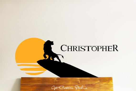 Custom Name Wall Decal by GetCreativeStudios