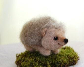 Needle Felted Hedgehog. Felted Animals. Woodland Critters. Toys For Boys. Boys Gift. Needle Felt Animals. Wool Felt Animals. Forest Animals
