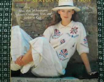 Designer Sweater Pattern Collection, 20 Knitting Patterns, Hardcover Book, Seaton Designer Sweater Collection, Wearable Art, Designer
