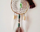 """Traditional Dream Catcher """"Nature Song"""" Native American Style American Indian Earth Forest Natural Neutral Gift for Him or Her"""