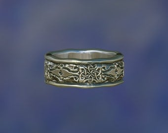 celtic ring  celtic   wedding ring   wedding band   engagement ring ZB15A