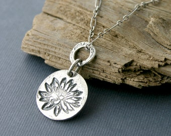 Sterling Silver Necklace Handmade Artisan Jewelry