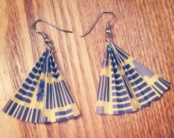 Marqué Origami® Oriental Fan Earrings