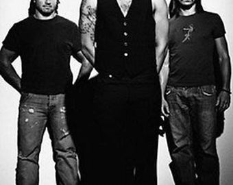 Silverchair Black and White Group Shot Rare Vintage Poster