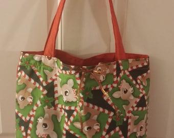 Red Reindeer Tote Bag