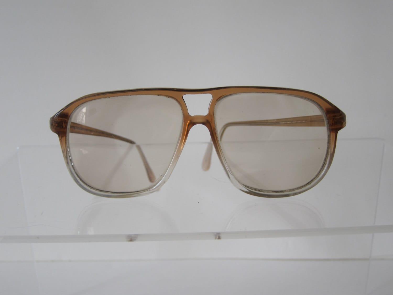 vintage mens aviator eyeglasses oversize by