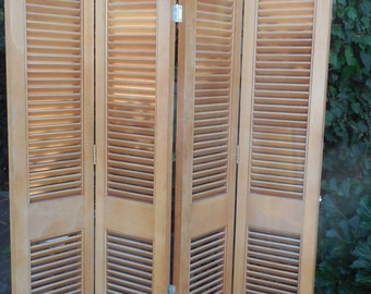 Upcycled Room Divider / Privacy Screen