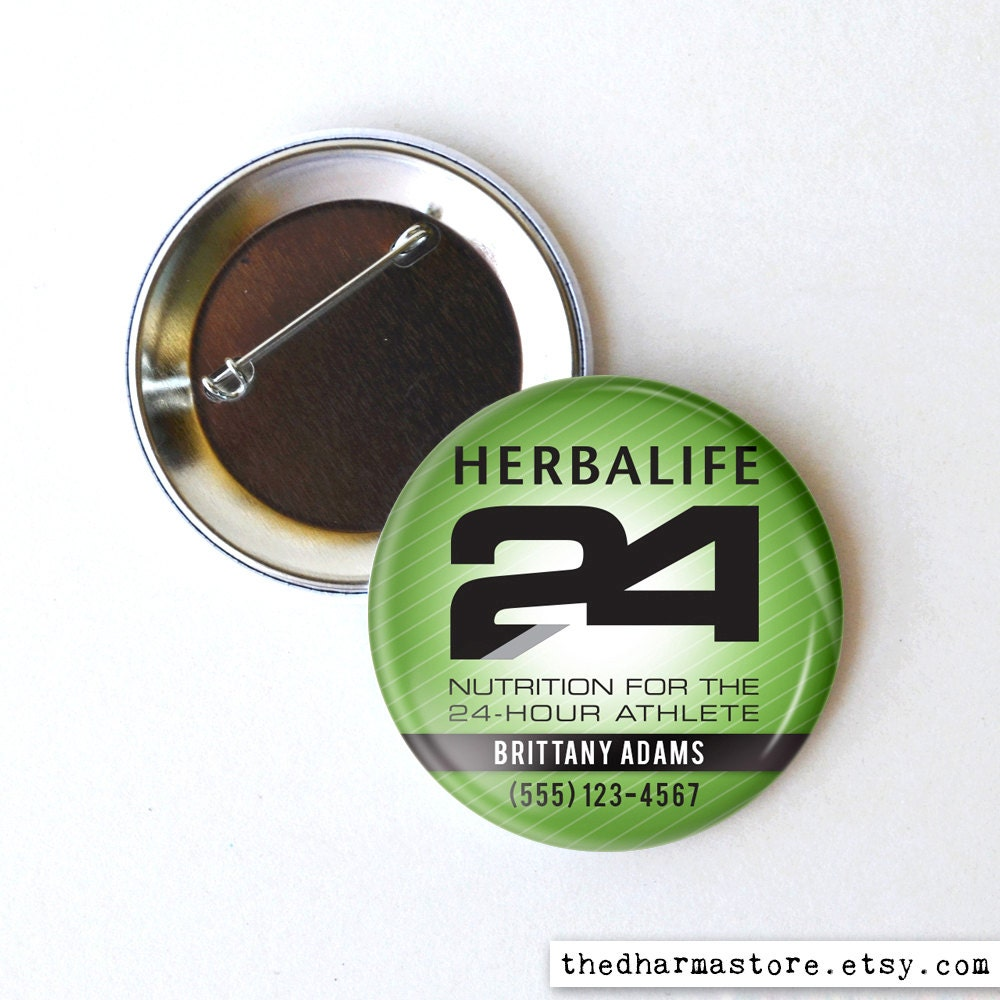 Funny Buttons And Stuff: Herbalife button, herbalife24 ...