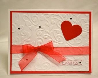 Valentine's Love You Card